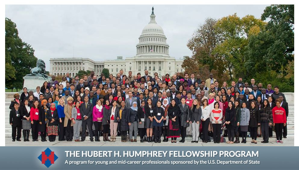 Hubert Humphrey Fellowship Program 2018/19 – United States (Fully Sponsored)