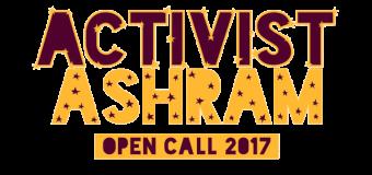 Apply for the Activist Ashram 2017