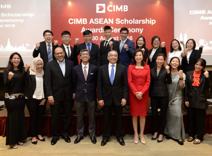 Apply for the CIMB ASEAN Scholarship 2017