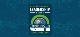 Climate Reality Leadership Corps – 2017 Washington Training
