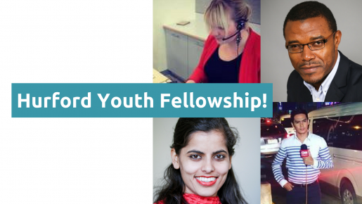 Apply for Hurford Youth Fellows Program in Washington, DC (fully-funded)
