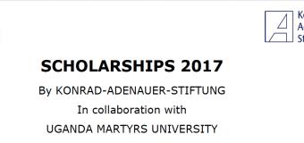 Apply for the KAS-UMU Scholarship Programme 2017 (fully funded)