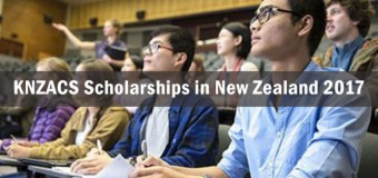 Korea New Zealand Agricultural Cooperation Scholarships 2017