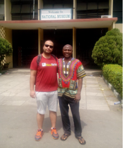 Mohi Badr at The Nigerian National Museum