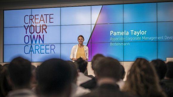 Participate in the Talent Meets Bertelsmann 2017