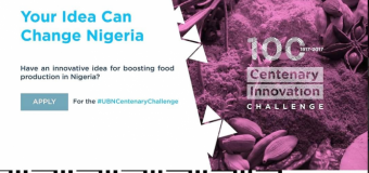 Union Bank Centenary Innovation Challenge (Prizes up to N4,000,000)