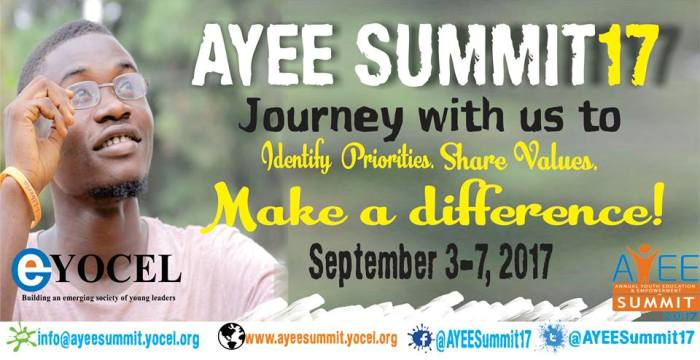 Annual Youth Education and Empowerment Summit 2017 (Partially Funded)