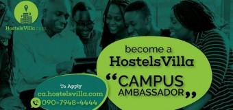 Become a HostelsVilla Campus Ambassador