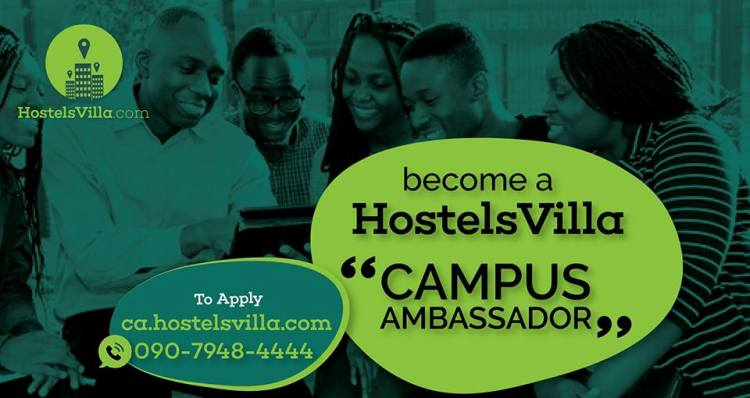 Become a HostelsVilla Campus Ambassador