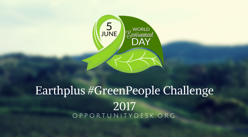 Earthplus #GreenPeople Challenge 2017