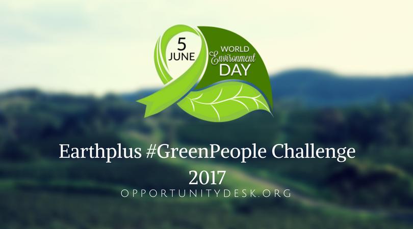 Earthplus #GreenPeople Challenge 2017