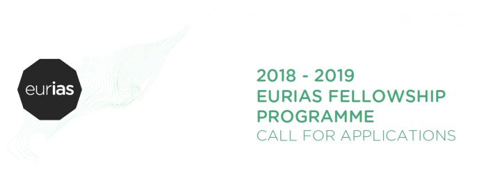 European Institutes for Advanced Study (EURIAS) Fellowship 2018/19