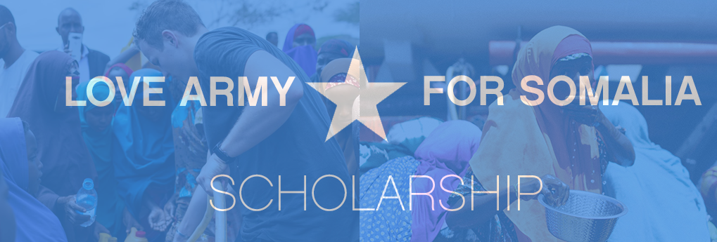 Apply for the Love Army for Somalia Scholarship 2017 (Win a trip to the One Young World Summit)