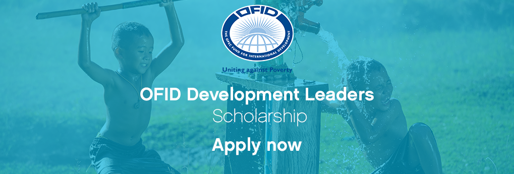 OFID Development Leaders Scholarship for Colombians to attend One Young World Summit 2017