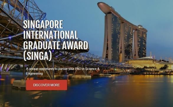 Singapore International Graduate Award (SINGA) 2017