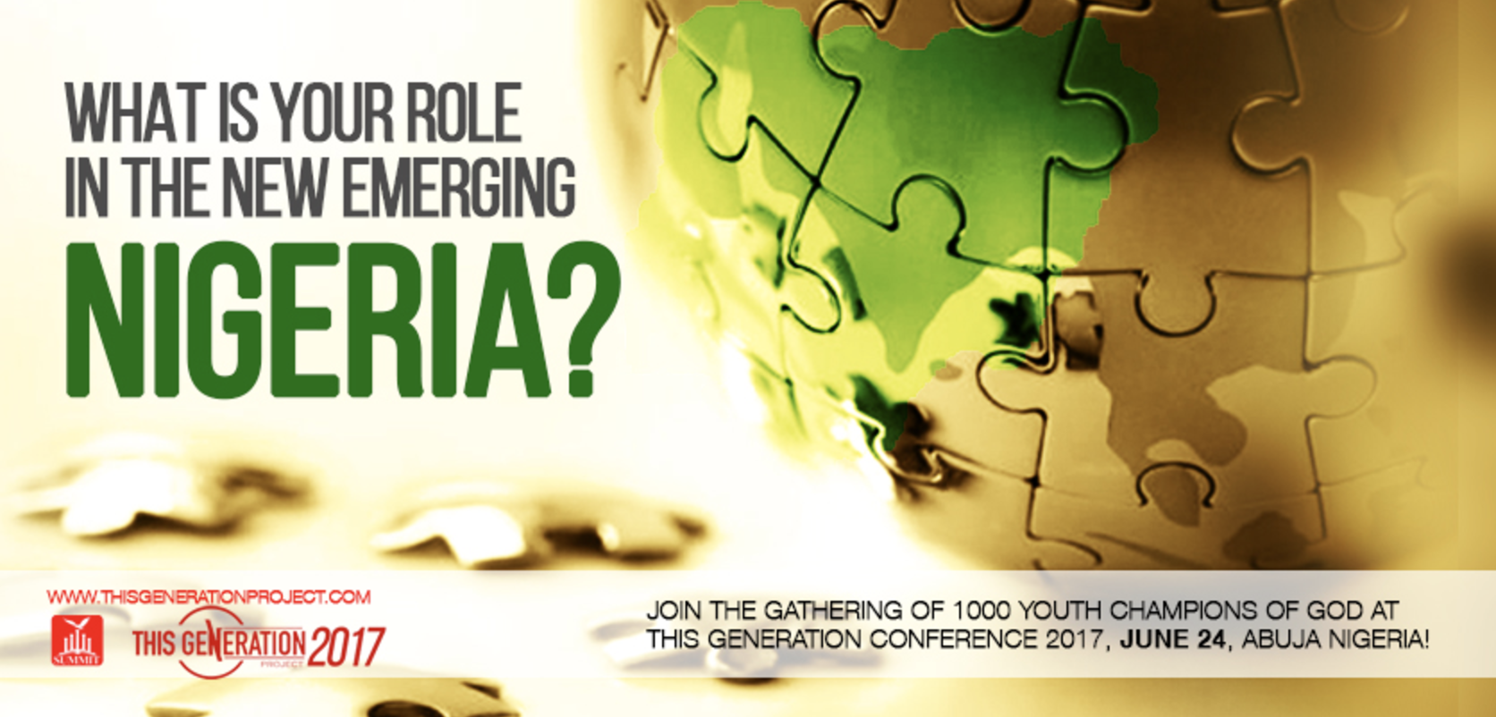 Register to attend This Generation Conference 2017 – Abuja, Nigeria