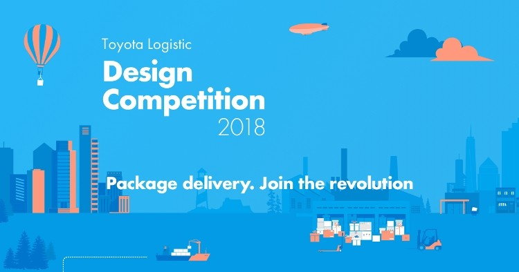 Character Design Competition 2018 : Toyota logistic design competition opportunity desk