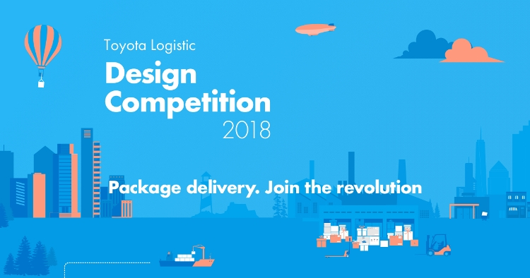 Enter the Toyota Logistic Design Competition 2018