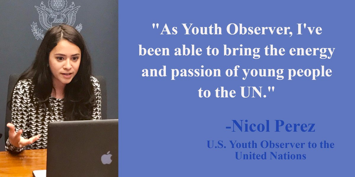 Apply: U.S. Youth Observer to the United Nations 2017/18