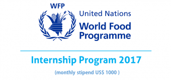 United Nations World Food Program Internship 2017