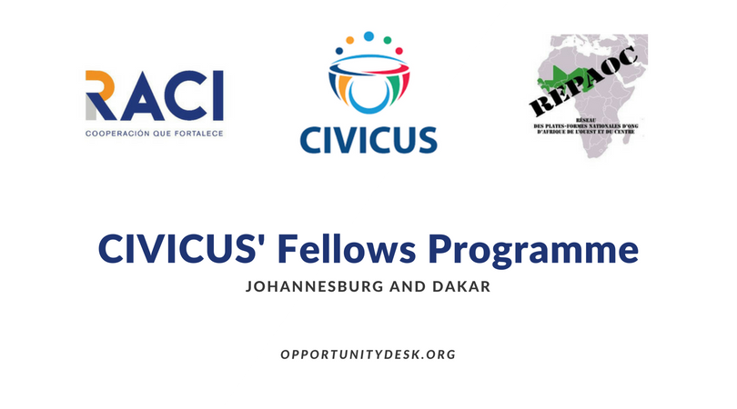 Image result for images for CIVICUS/REPAOC Fellows Program