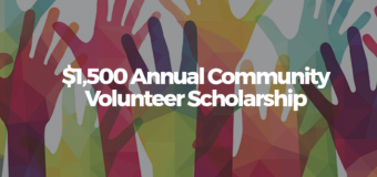 DealHack Community Volunteer Scholarship 2017 (Worth up to USD 1,500)