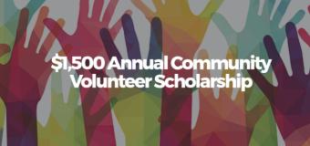 DealHack Community Volunteer Scholarship 2017 (Worth up to USD 1,500)