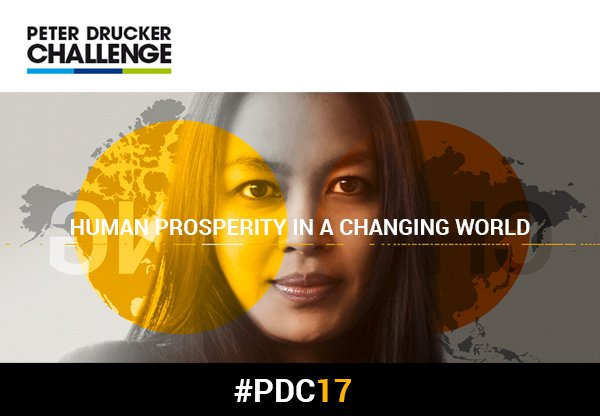 Peter Drucker Challenge 2017 (Cash Prize of € 1,000 + more)