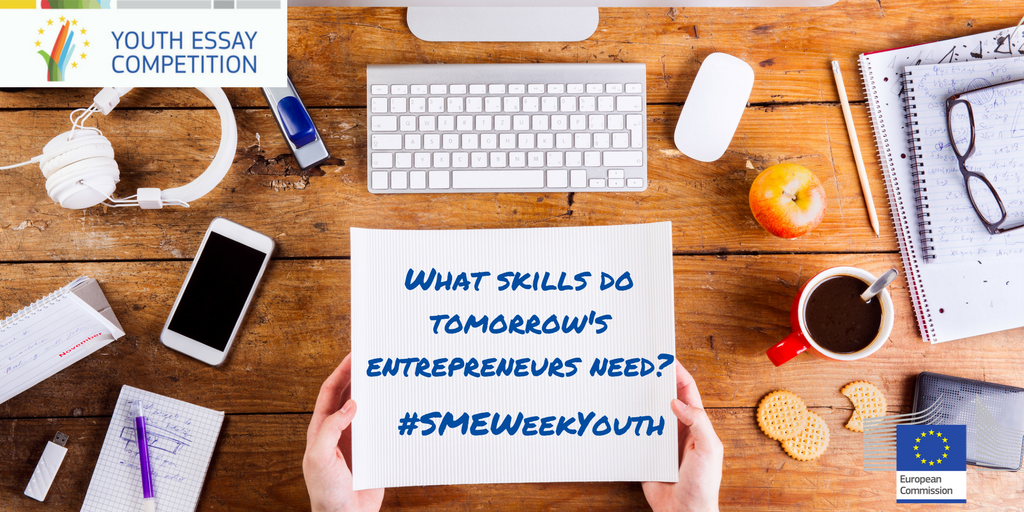 European SME Week Youth Essay Competition 2017 (Win a trip to Estonia)