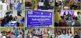 Global Training of Trainers (ToT) on Youth and Peace Building 2017
