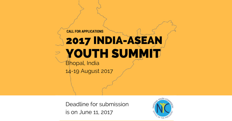 Apply for the NYC India-ASEAN Youth Summit 2017 (Funded)
