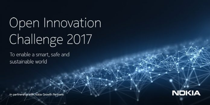 Nokia Open Innovation Challenge for Startups and Innovators 2017