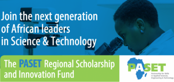 PASET Regional Scholarship and Innovation Fund 2017/18