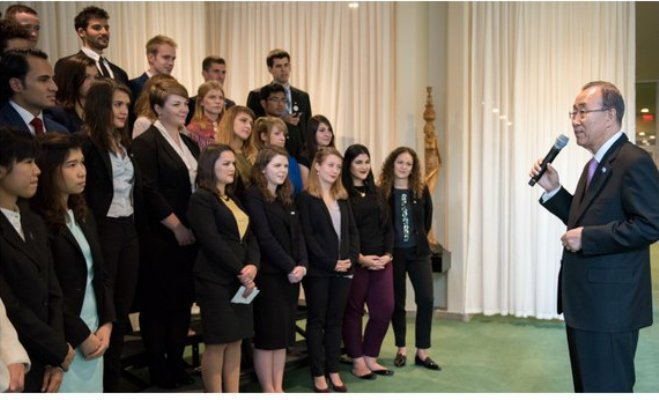 UN Youth Delegate Programme for Ireland 2017-2018