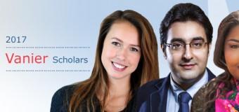 Vanier Canada Graduate Scholarship Program 2018