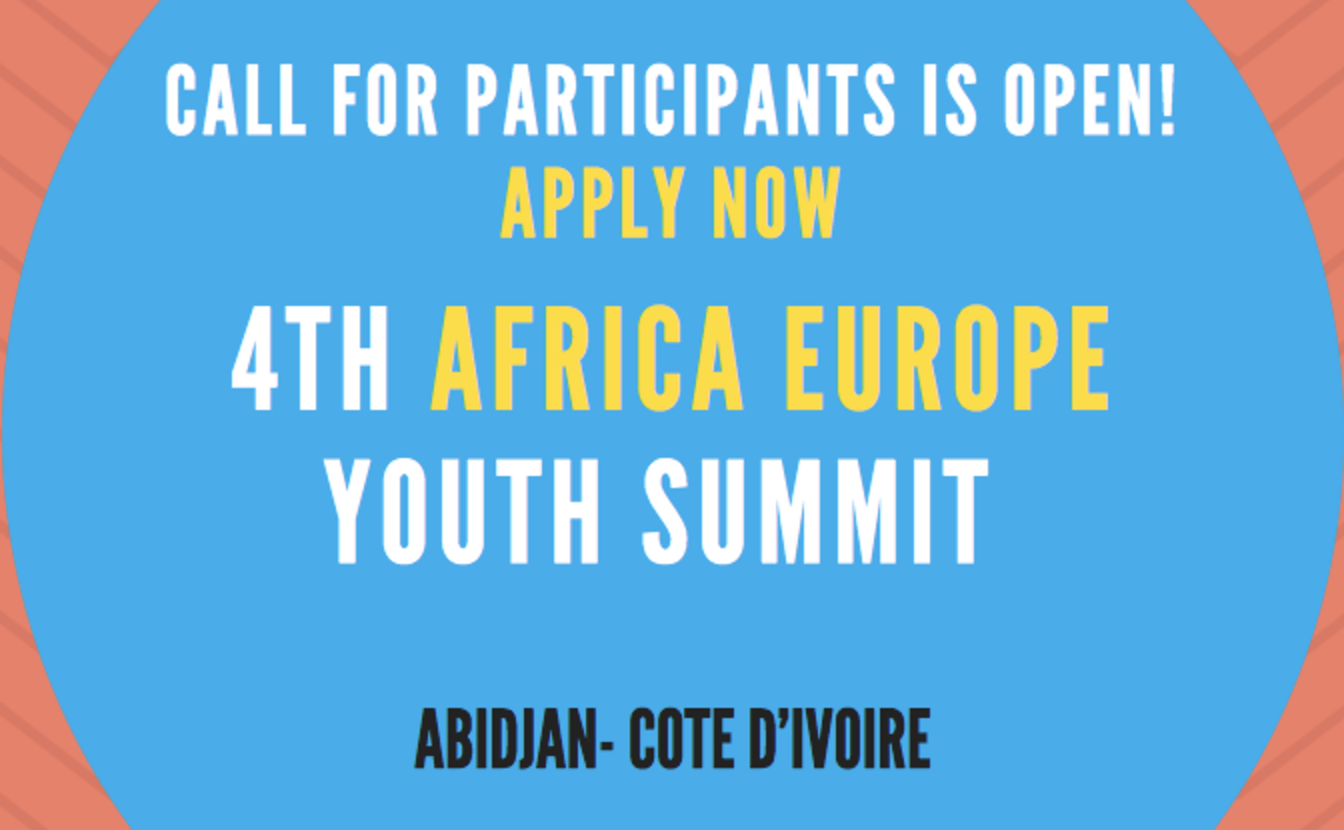 Apply: 4th African-Europe Youth Summit and Youth Plug-in Initiative (Fully-funded)