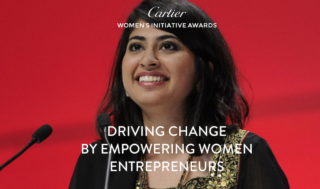 Cartier Women's Initiative Awards for Female Entrepreneurs 2018 (Up to $100,000 Prize)
