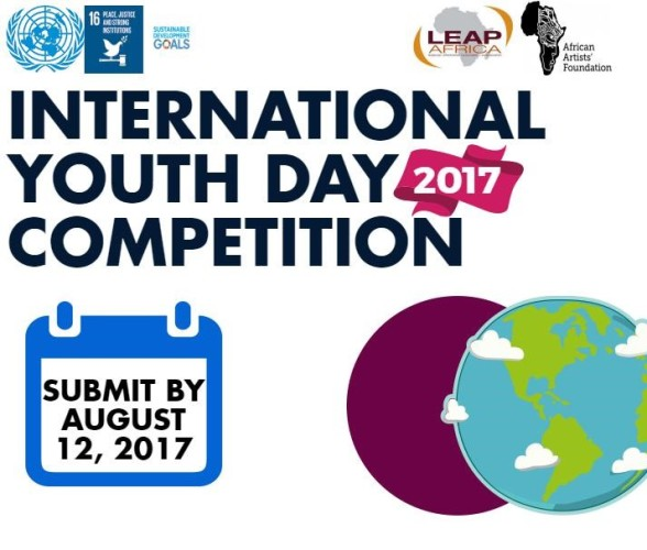 LEAP Africa International Youth Day 2017 Peace Challenge