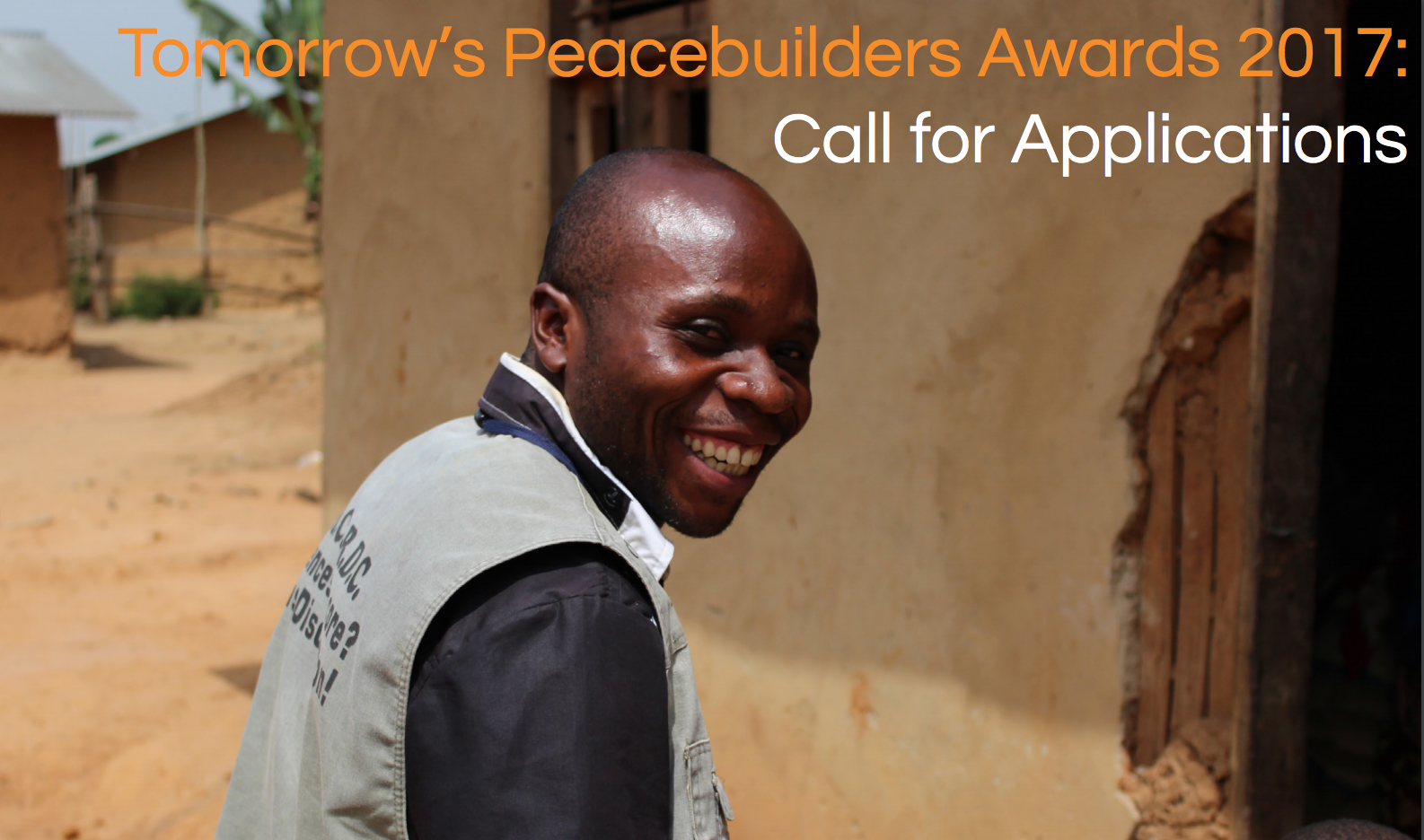 Peace Direct – Tomorrow's Peacebuilders Awards 2017