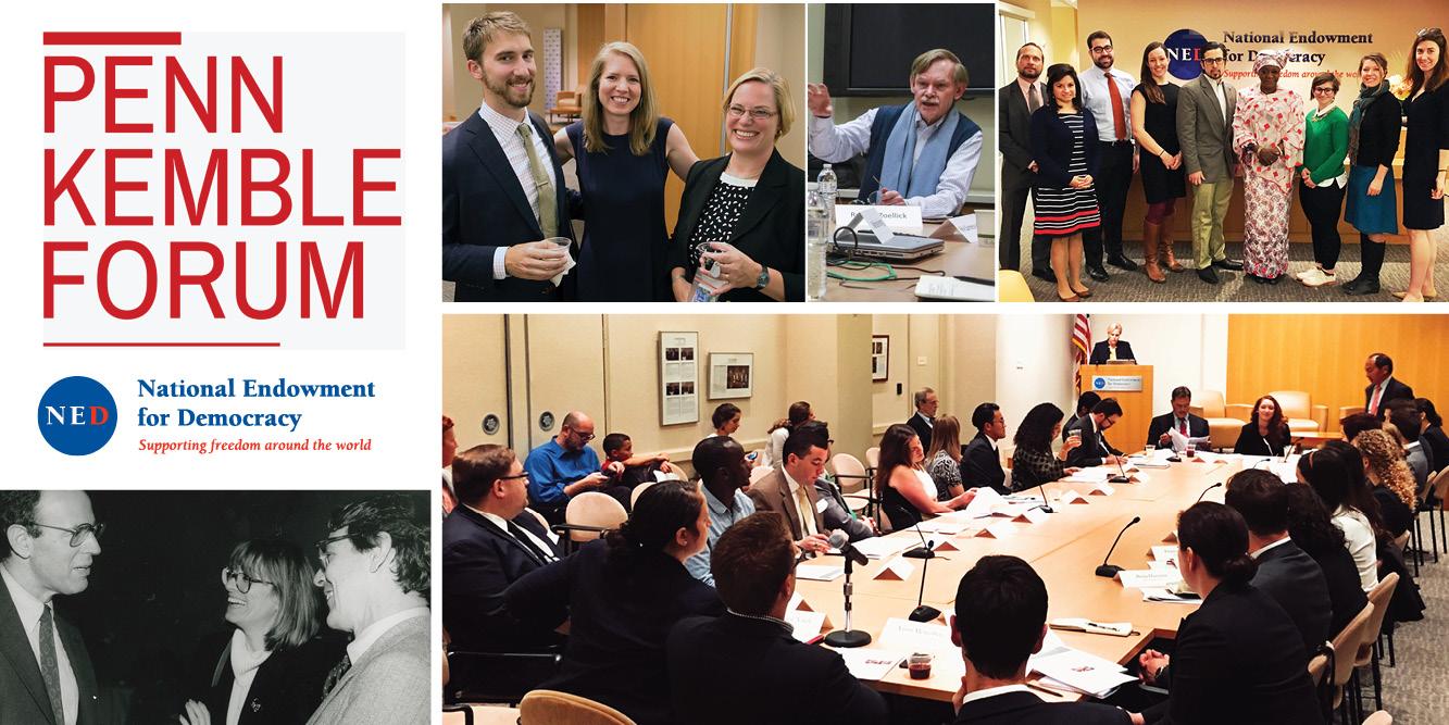 Penn Kemble Forum on Democracy 2017-2018 in Washington DC, USA