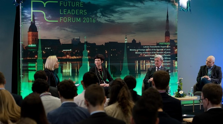 Rīga Conference Future Leaders Forum in Latvia 2017