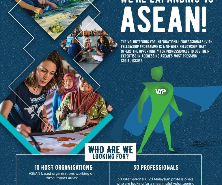 Volunteering International Professional (VIP) Fellowship Programme 2017 (Fully Funded)