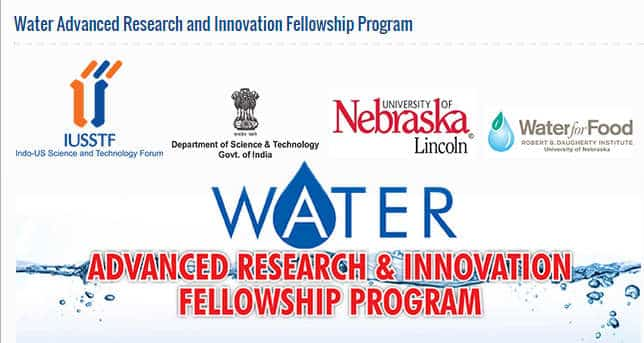 Water Advanced Research & Innovation Fellowship Program 2017/2018