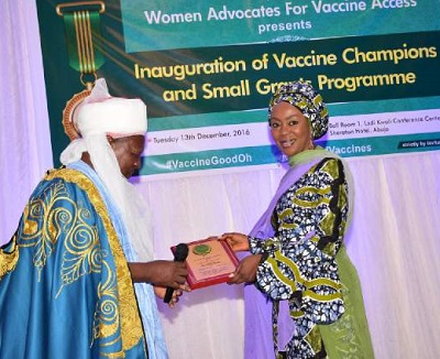 Women Advocates for Vaccine Access (WAVA) Small Grants 2017