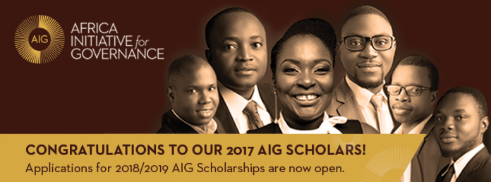AIG Masters Scholarships at University of Oxford 2018-2019 (fully-funded)