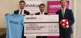 Apply to Become a LandAid Charity Partner and for a Grant of up to £75,000