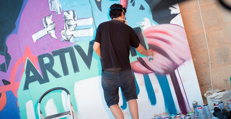 Become an Artivist: ARTIVISTI New Programme for Young Artists 2017 (€2,000 Prize)