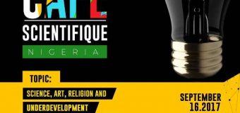 Register to attend Rouleaux Foundation Café Scientifique – Lagos, Nigeria