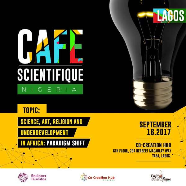 Register to attend Rouleaux Foundation Café Scientifique – Lagos, Nigeria