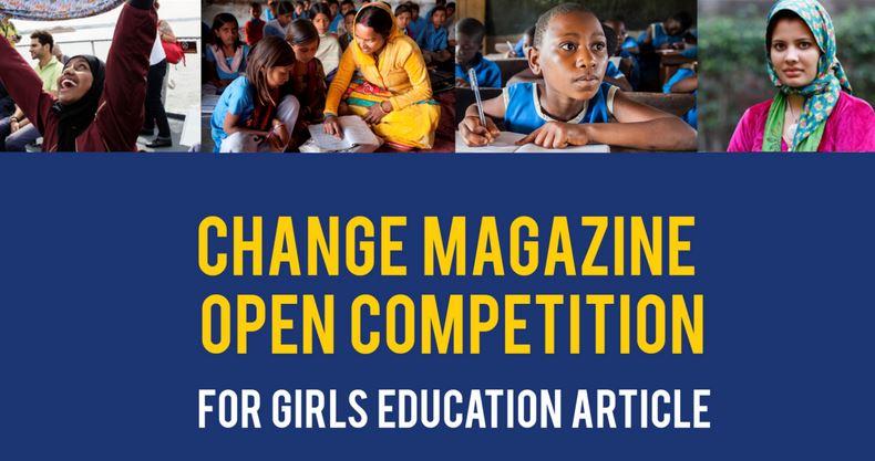 Change Magazine Essay Competition on Girls Education 2017